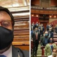 Poliziotto ucciso a Napoli, i parlamentari della Lega assenti alla commemorazione in suo onore